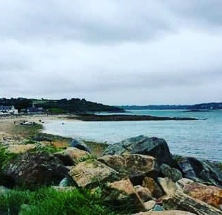 Christine just checked in @ Morlaix (France)