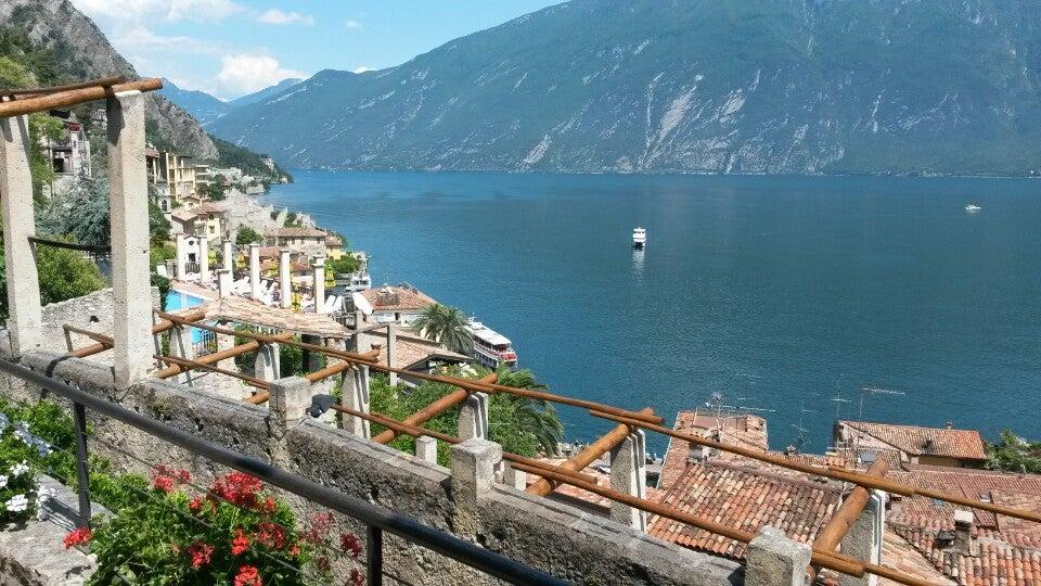 Natascia just checked in @ Limone sul Garda (Italia)