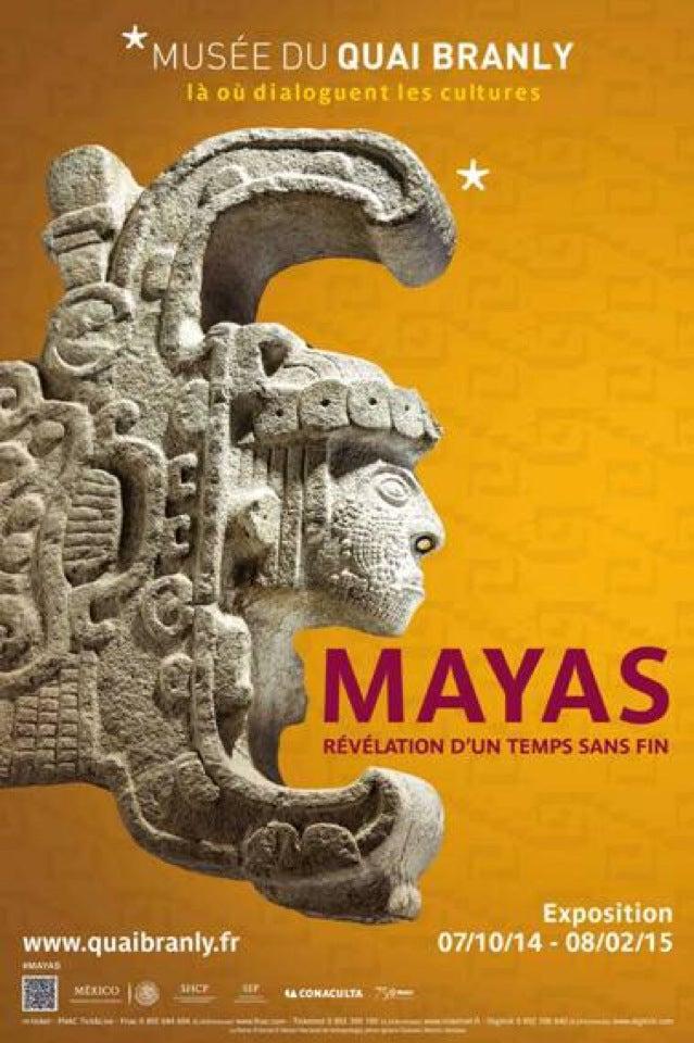 Vernissage expo #Mayas Révélation d'un temps sans fin