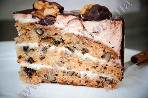 Рецепт торта золотой орешек