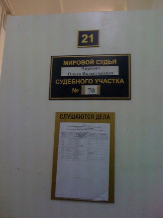 Мировой судья судебного участка 1 кировского района г.екатеринбург