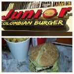 Photo taken at Junior Colombian Burger by Aluizio R. on 5/7/2013