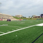 Photo taken at Tully Stadium by Brian D. on 4/5/2014