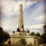 Photo taken at Lincoln Tomb State Historic Site by Shaun M. on 6/8/2013