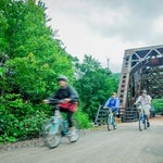 Photo taken at Great Allegheny Passage - Youghiogheny River Trail by visitPA on 4/24/2014