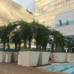 Photo taken at Water Club Pool by Justine S. on 7/29/2014