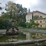 Photo taken at Andělská fontána by Jaroslav P. on 10/12/2014