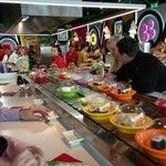 Photo taken at Running Sushi Sumo by Marketa on 3/30/2013