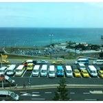 A vista do Aeroporto sobre o mar!
