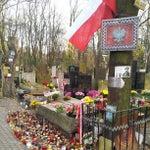 Photo taken at Cmentarz Powązkowski by Omar A. on 11/3/2012