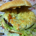 Photo taken at Junior Colombian Burger by Zach on 9/29/2012