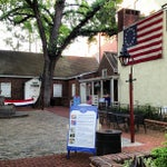Photo taken at Betsy Ross House by Michael C. on 5/29/2013