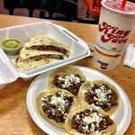 Photo taken at King Taco Restaurant by Junior M. on 12/8/2012