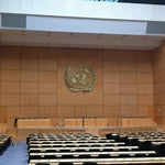 Photo taken at Palais des Nations by Pedro A. on 3/30/2013