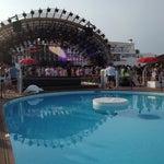 Photo taken at Ushuaïa Ibiza Beach Hotel by Kevin H. on 7/10/2013