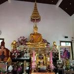 Photo taken at วัดพระราม ๙ กาญจนาภิเษก (Rama IX Golden Jubilee Temple) by Yui on 9/30/2012