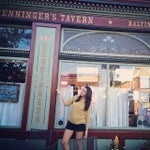 Photo taken at Henninger's Tavern by Taylor L. on 6/24/2014
