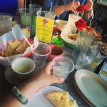 Photo taken at Pablo's Restaurante & Cantina by Ross C. on 5/5/2014