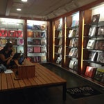 Has to have some of the coolest stores including sub-pop records where you can listen to records while you wait for a flight.