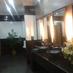 1st class. Very nice toilet at departure hall.