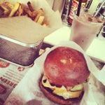 Photo taken at YEAH! Burger by Crayon S. on 4/17/2013