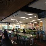 Photo taken at Intuit Bayside Cafe by Issa A. on 12/26/2012
