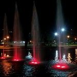 Photo taken at Parque Centenario by Demian A. on 3/11/2013