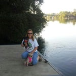 Photo taken at Lake Redding Park by L B. on 7/5/2014