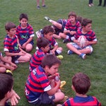 Photo taken at Canchas nuevas COBS by Federico C. on 12/8/2013