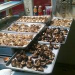 Photo taken at La Bonne Soupe Cafe by Edward S. on 9/21/2012