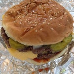 Photo taken at Five Guys by Goodwin M. on 8/18/2013