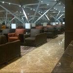 Photo taken at Plaza Premium Lounge by Sanvar O. on 5/13/2013
