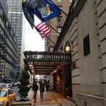 Photo taken at InterContinental New York Barclay by Vasek 🍉 on 12/31/2012