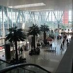 Selamat datang di bandara international modern dgn nuansa Melayu Riau terbaik di Indonesia :)