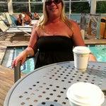 Photo taken at Water Club Pool by Jim W. on 8/5/2014