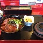 Photo taken at 割烹 田舎 by Trish K. on 9/28/2012