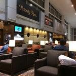 Photo taken at Plaza Premium Lounge by Girish M. on 2/25/2014