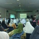 Photo taken at Masjid Al-Mukminun by Anne A. on 4/21/2013