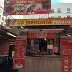 Photo taken at La Jarochita Mexican by littleneek on 4/2/2014