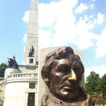 Photo taken at Lincoln Tomb State Historic Site by Michael P. on 7/23/2011