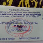 Terminal fee has skyrocketed from 40 PHP to 100 PHP. It can be clearly seen on the improvised receipt that they issue.