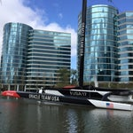 Photo taken at USA-71 BMW-Oracle Racing Boat by Pascal F. on 3/22/2015