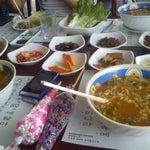 Photo taken at Huwon Restaurante Coreano by Alee' R. on 2/19/2013
