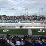 Photo taken at Hersheypark Stadium by Kate B. on 1/19/2013