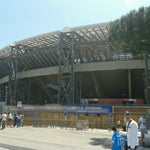 Photo taken at Stadio San Paolo by Jessica D. on 5/12/2013