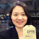 Photo taken at 양각도 국제 호텔 (Yanggakdo International Hotel) by Uri Tours to North Korea on 4/13/2013