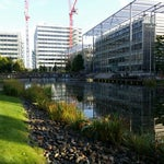 Photo taken at Chiswick Business Park by Burhan A. on 10/10/2014