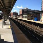 Photo taken at Yonkers Train Station - Metro North & Amtrak by Nikki K. on 3/27/2013