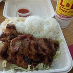 Photo taken at L&L Hawaiian Barbecue by Myriam M. on 4/27/2013