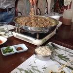 Photo taken at Huwon Restaurante Coreano by M  Alejandra R. on 8/20/2014